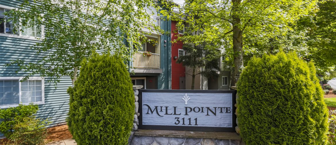 Mill Pointe Sign