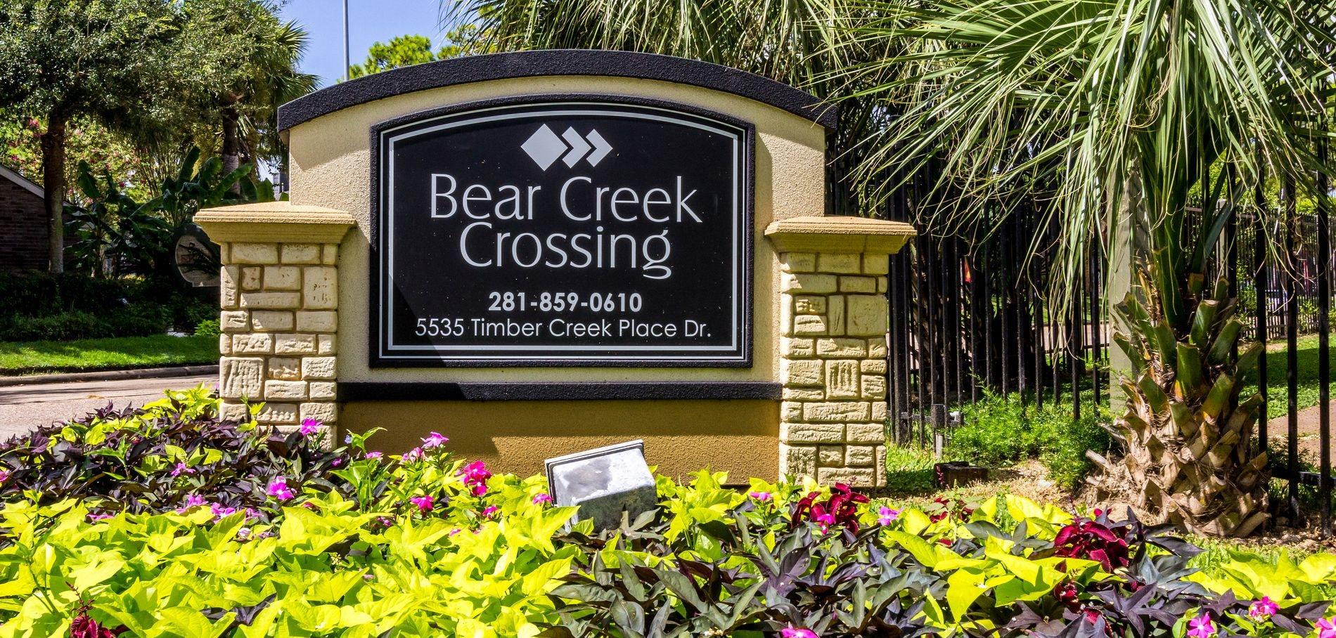 Bear Creek Crossing Apartments Houston Tx