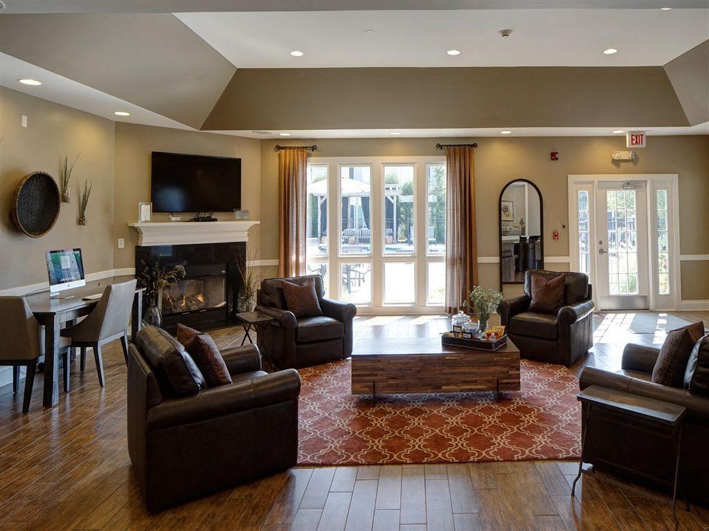 Spacious Clubhouse at Farmington Lakes Apartments Homes, Oswego, IL, 60543