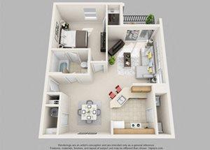 Weston- 1 Bedroom