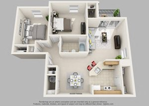 Weston- 2 Bedroom