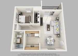 Wicklow- 1 Bedroom