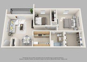Wicklow- 2 Bedroom