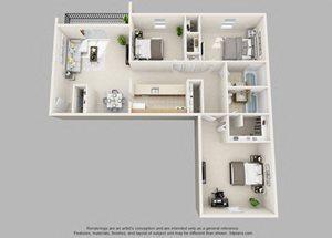 Wicklow- 3 Bedroom