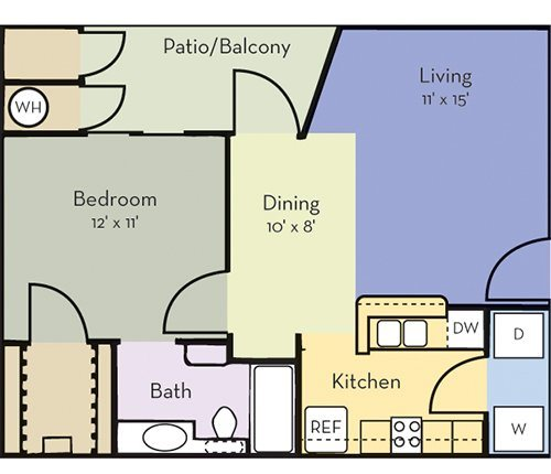 Greensview Apartment Homes, Aurora, Colorado, CO