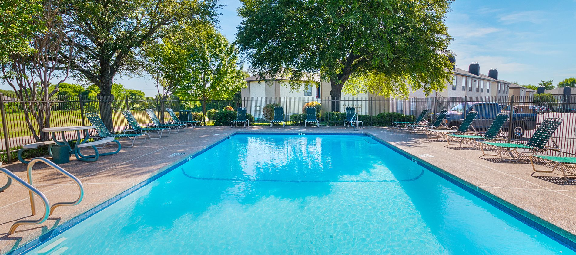 Pool at Heritage Square Apartment Homes, Waco, Texas, TX