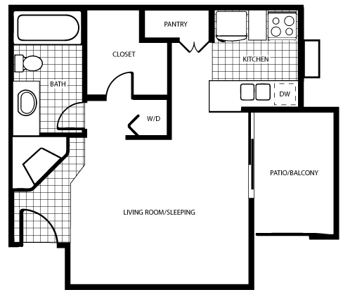 Summit/Crest Floor Plan 1
