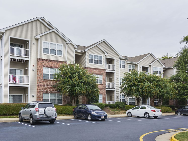 Apartment Building at Ultris Courthouse Square Apartments in Stafford, Virginia, VA