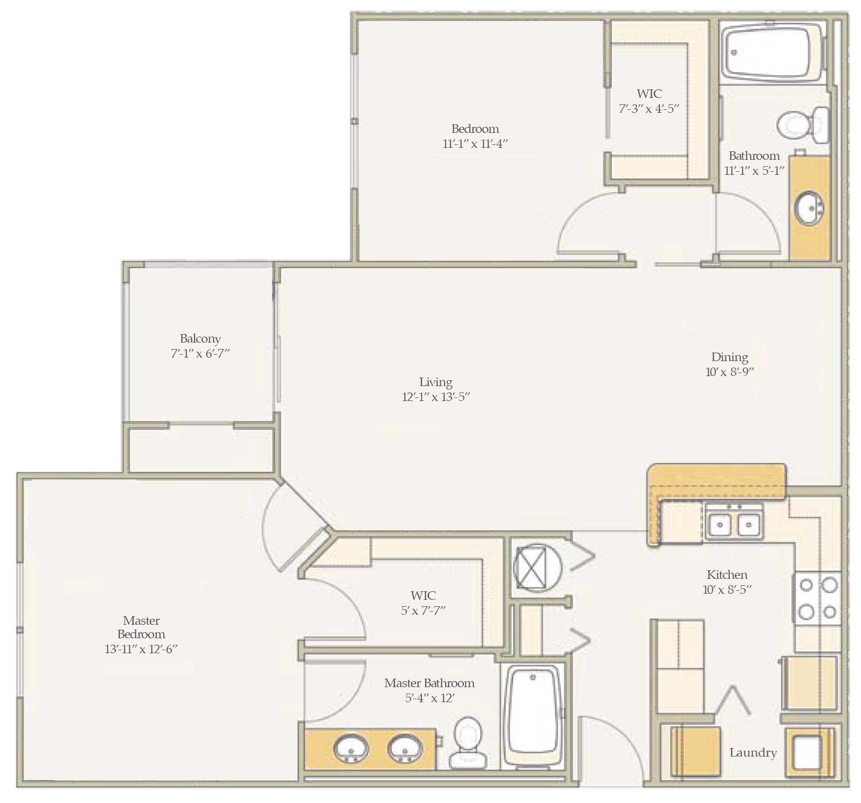 The Live Oak Floor Plan 2