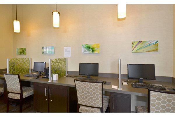 Business Center with Print Access at Ultris Oakleaf Plantation, Jacksonville, FL,32222