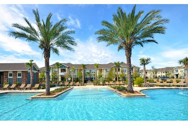 Resort-Style Zero-Entry Pool at Ultris Oakleaf Plantation, Jacksonville, FL,32222