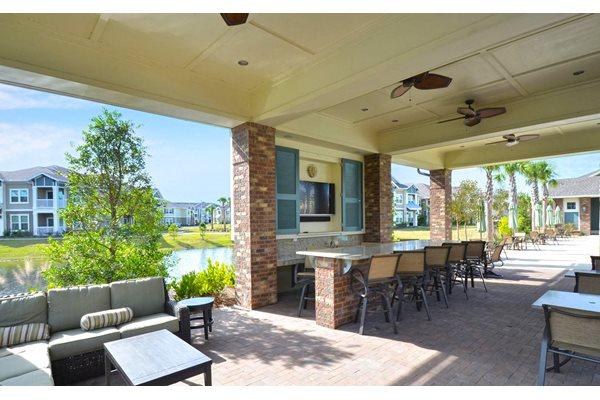 Pool Cabana & Outdoor Entertainment Bar at Ultris Oakleaf Plantation, Jacksonville, FL,32222