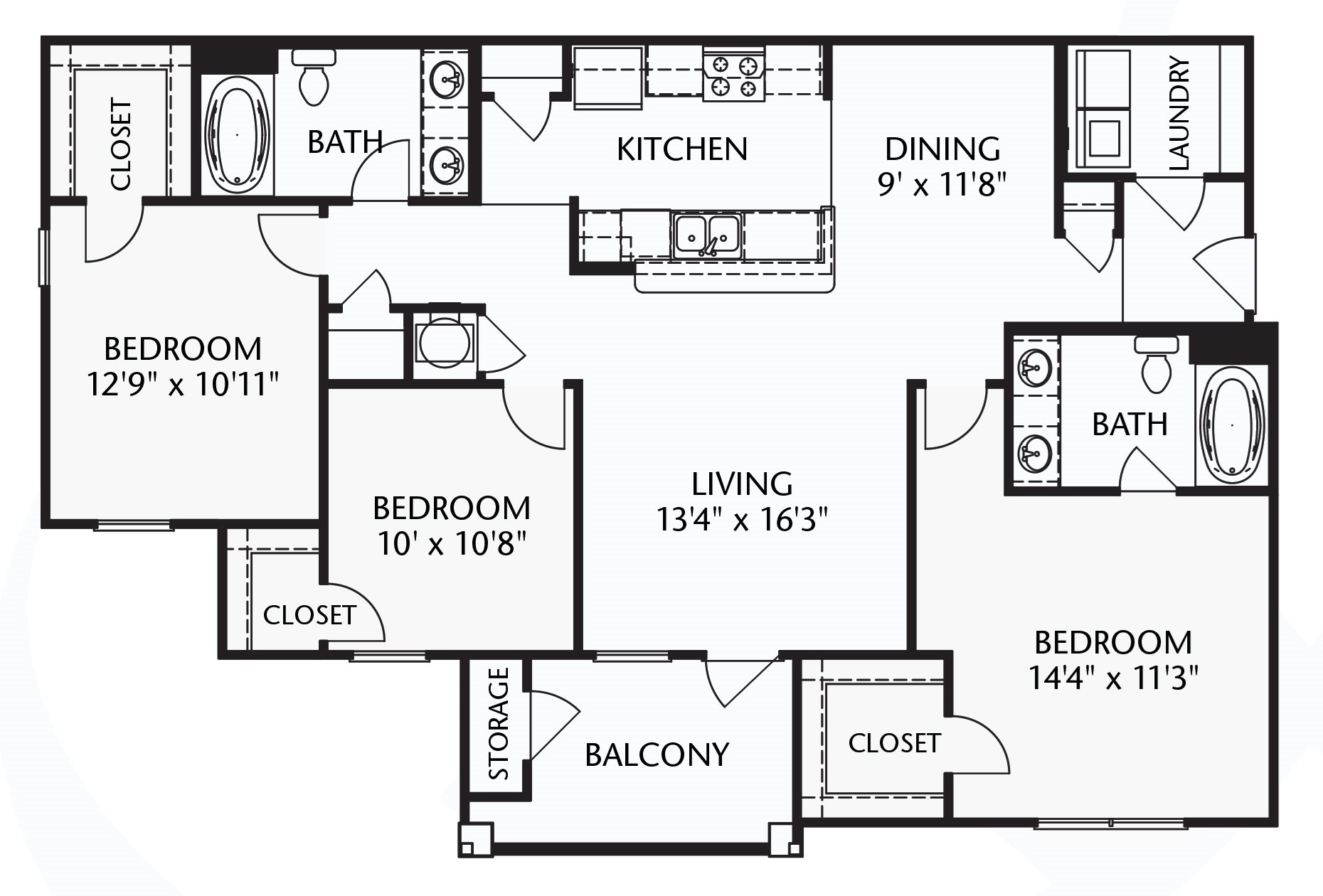 The Cape (traditional) Floorplan at Ultris Patriot Park
