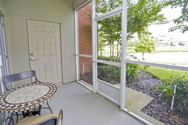 Patio/Balcony at Ultris Wynnfield Lakes, Jacksonville, FL,32246