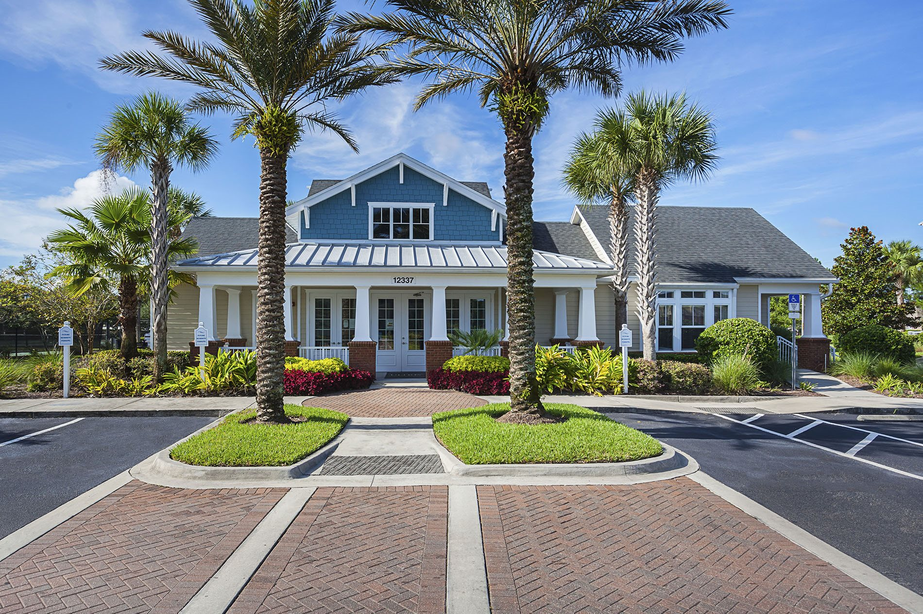 Clubhouse and Leasing Center at Ultris Wynnfield Lakes, Jacksonville, FL,32246