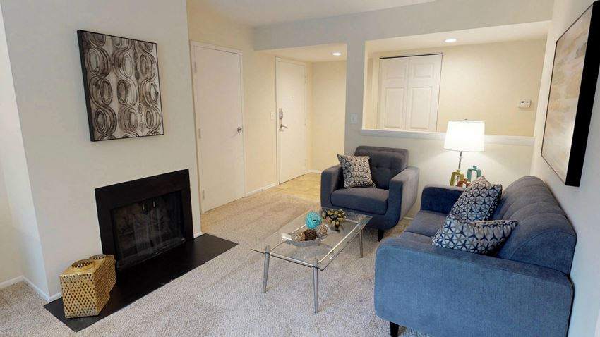 Fireplaces in Select Units