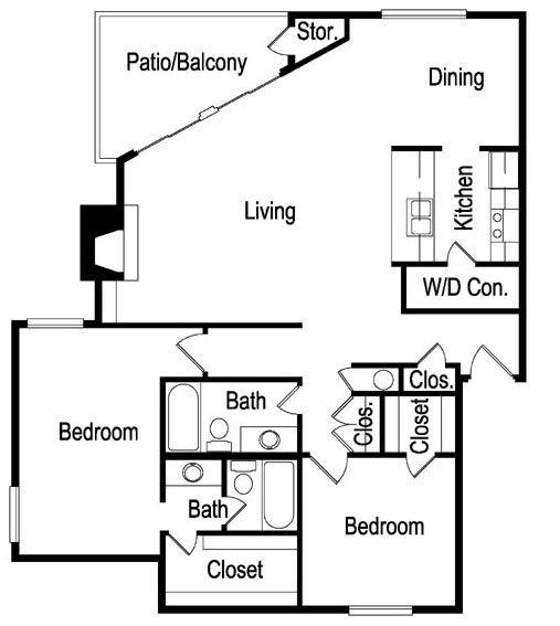 L Floor Plan 11