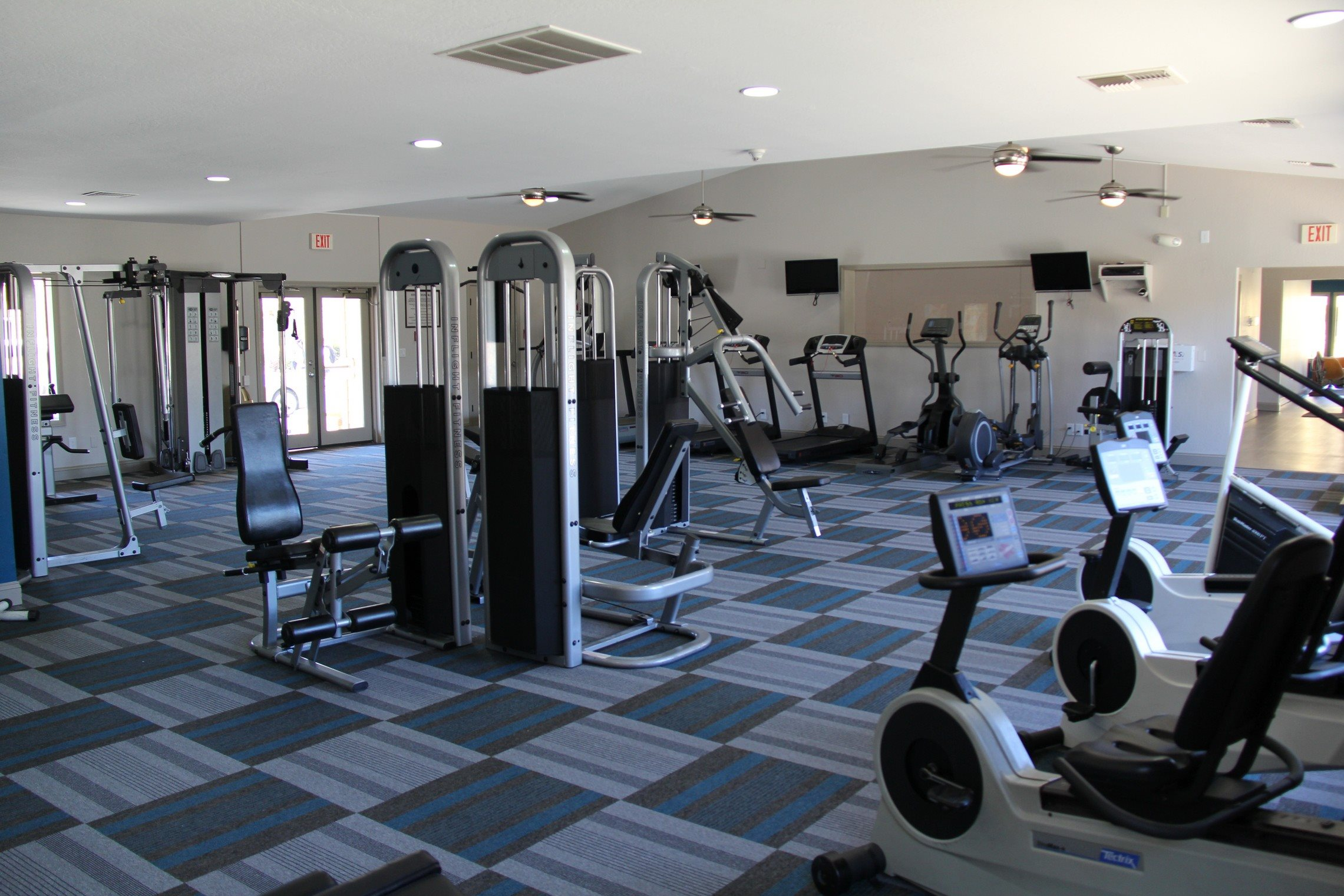 Fitness Center at Village at Iron Blossom Apartment Homes, Reno, 89511