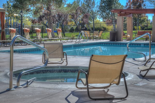 Pool & Spa at Vizcaya Hilltop Apartment Homes, 1350 Grand Summit Drive, NV