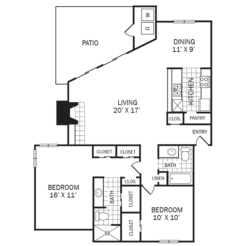 B2 Floor Plan 7