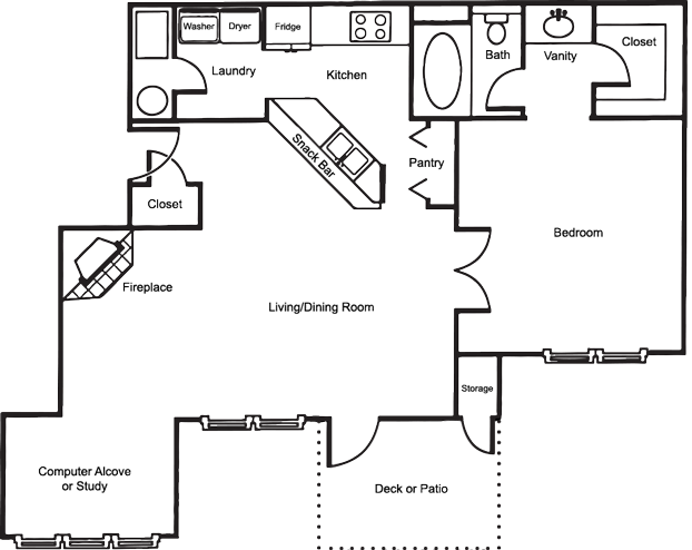 The Grand Royale Floor Plan 3