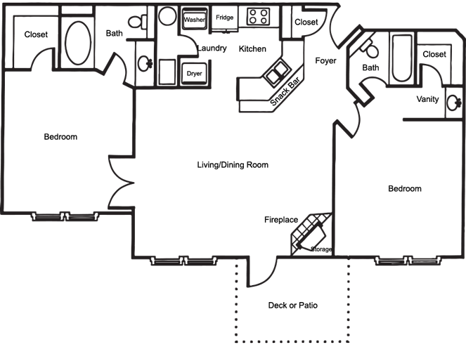 The Chase Floor Plan 4