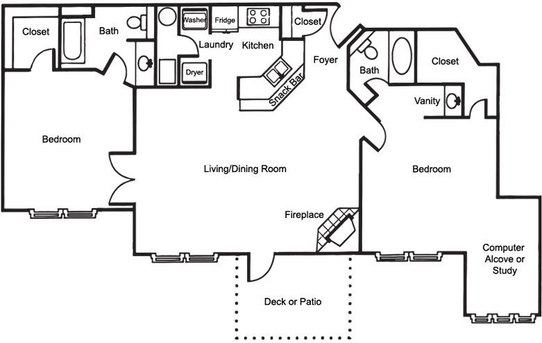 The Oxford Royale Floor Plan 6