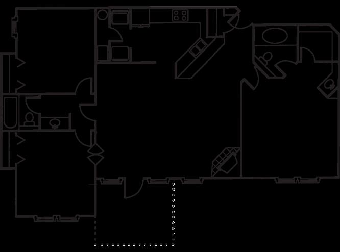 The Belmont Floor Plan 7