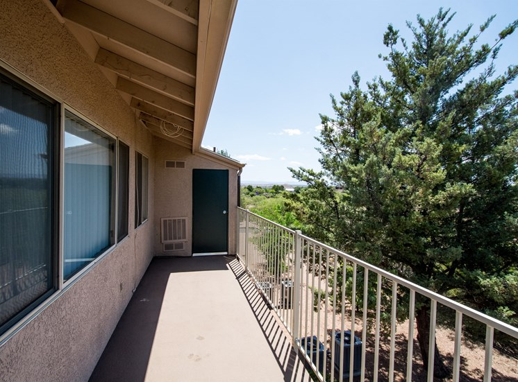 Private Patio at Rio Verde Apartments, Cottonwood, AZ,86326