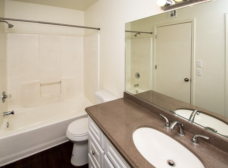 Renovated Bathrooms at Rio Verde Apartments, Cottonwood, AZ,86326