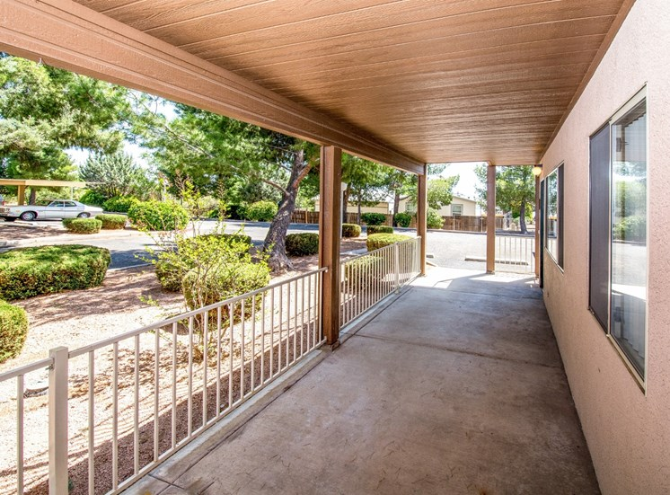Private Patios at Rio Verde Apartments, Cottonwood, AZ,86326
