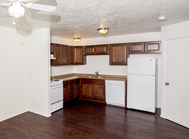 Fully equipped kitchen at Rio Verde Apartments, Cottonwood, AZ,86326