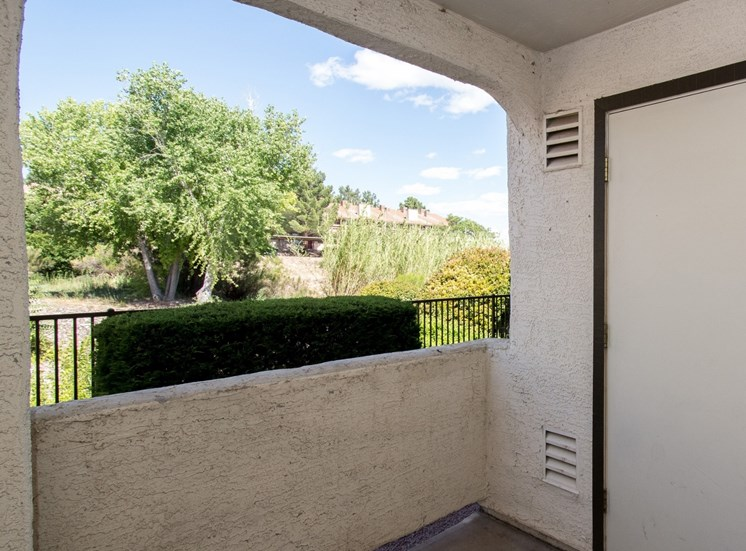 Patio/Balcony at Sagewood Apartments, Cottonwood, AZ,86326