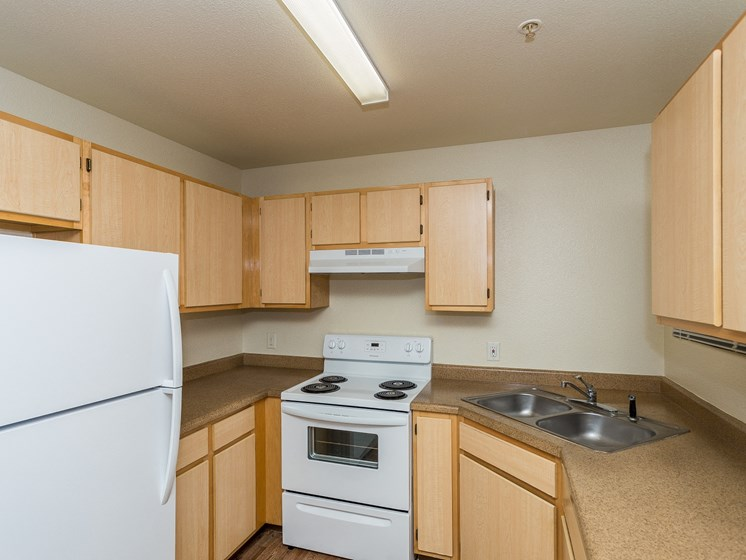 Sagewood Apartments 1 Bedroom Apartment Kitchen