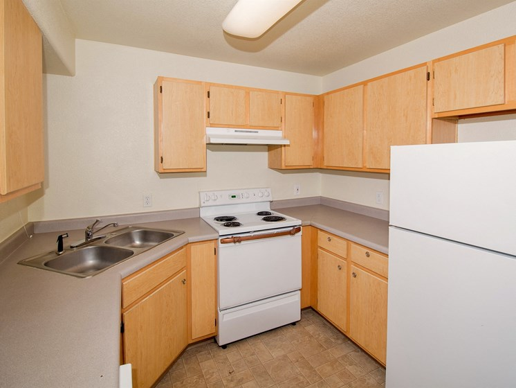 Sagewood Apartments 2 Bedroom Apartment Kitchen