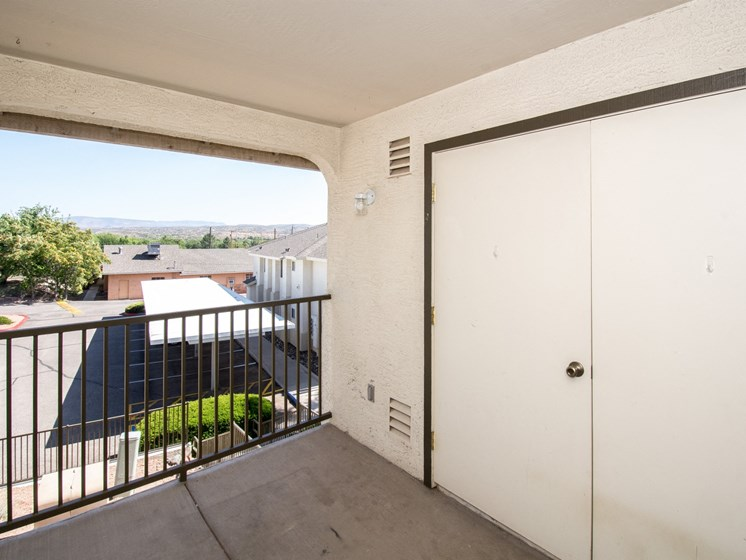 Private Balcony at Sagewood Apartments, Cottonwood, AZ,86326