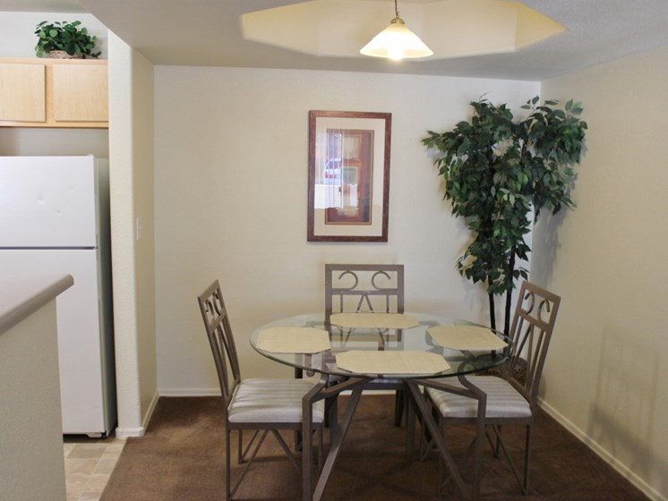 Dining Room at Sagewood Apartments, Cottonwood, AZ,86326