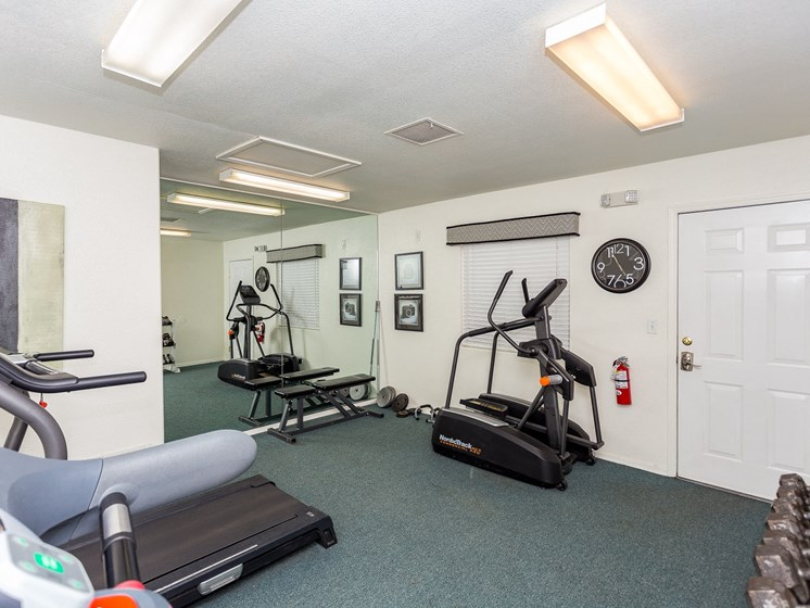 Sagewood Apartments Fitness Center Free Weights