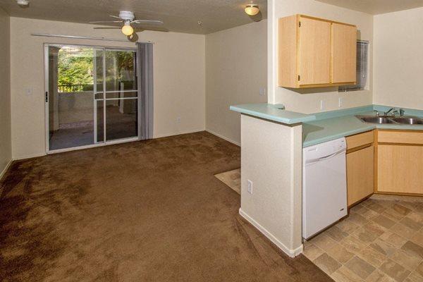living room at Sagewood Apartments, Cottonwood, AZ,86326