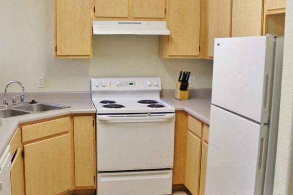 outfitted kitchen at Sagewood Apartments, Cottonwood, AZ,86326