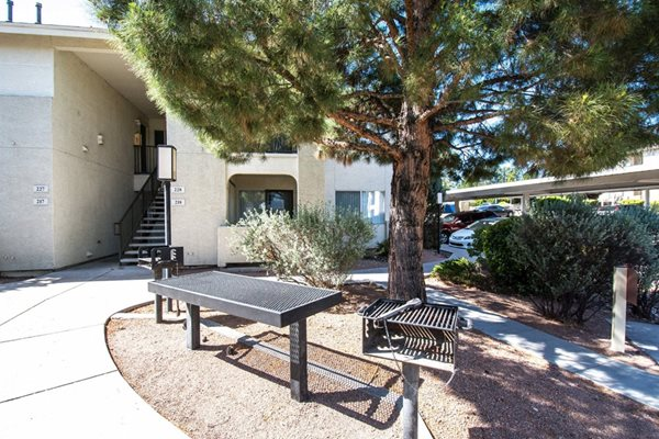 grilling area at Sagewood Apartments, Cottonwood, AZ,86326