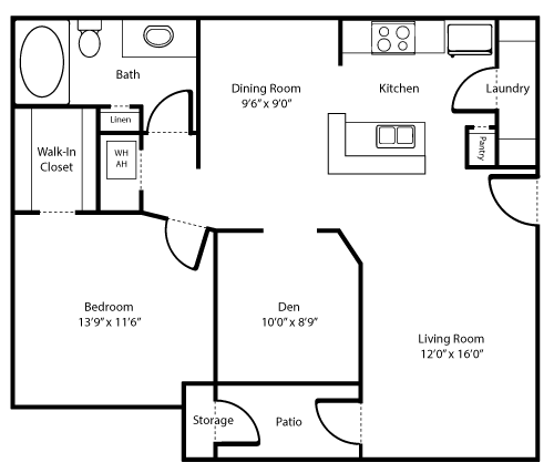 Autumn Sage Floor Plan 2
