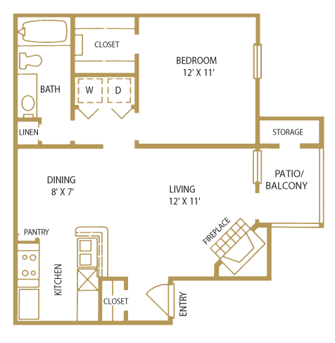 St. Tropez Floor Plan 3
