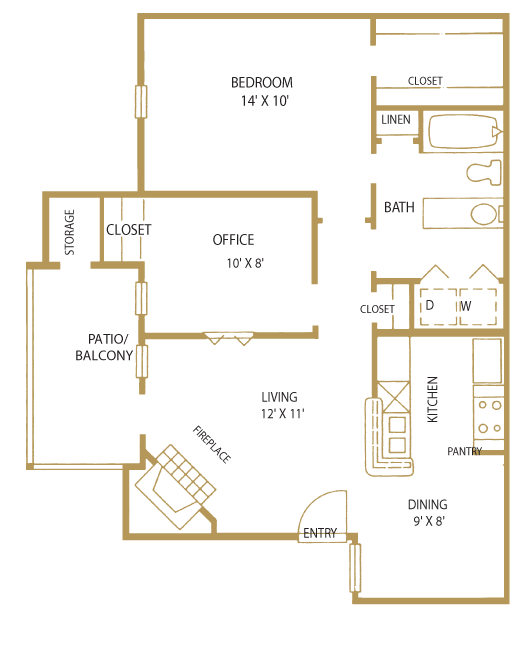 Players Club Apartments: Floor Plans Of The Players Club Of Brentwood In Nashville, TN