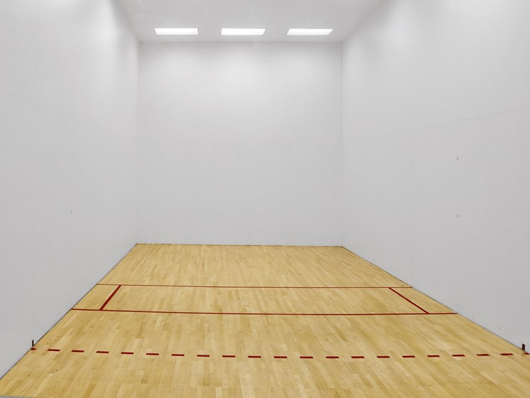 Racquetball Court at The Players Club Apartments in Nashville, Tennessee, TN
