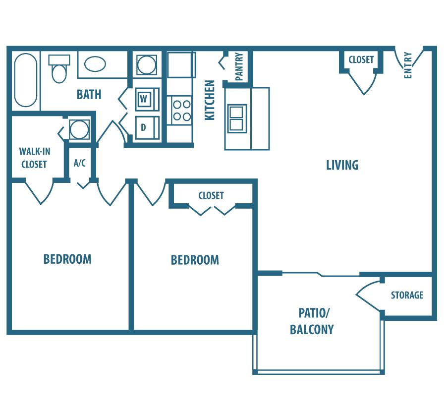 B3 Floor Plan 4