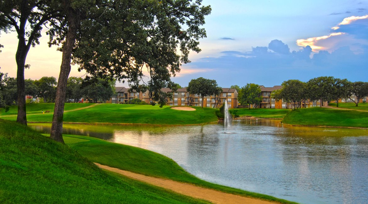 Golf Course View at Westdale Hills Apartments in Euless, TX