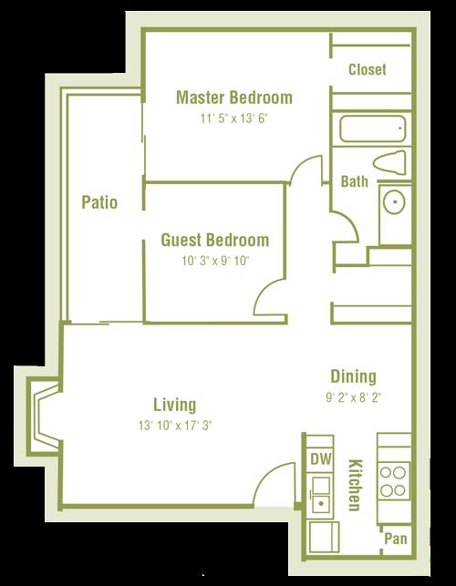 Plan B1 Floor Plan 5