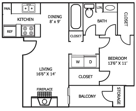 A6 Floor Plan 2