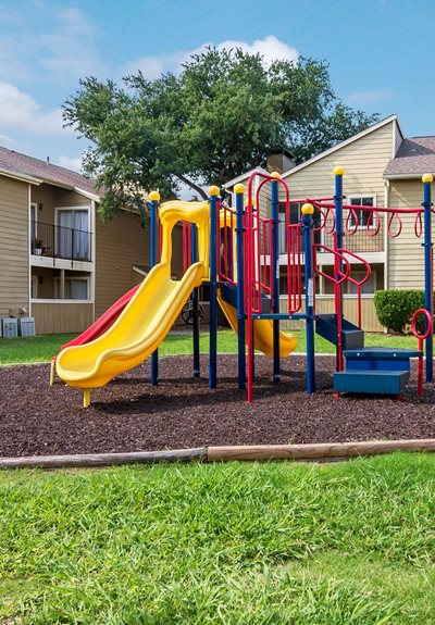 Playground at Windridge Apartments in Dallas, Texas, TX